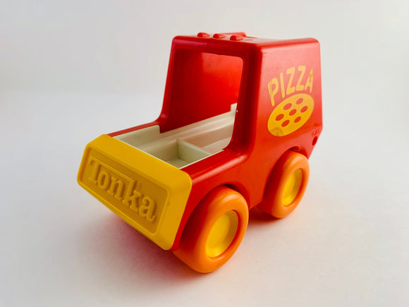 SOLD! 1989 My first Tonka, Pizza Delivery Truck #12