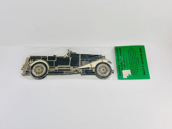 Frank Down Ltd. Vintage Car Silhouette Series 1926 Bentley