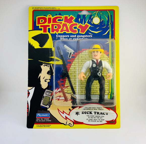1990 NOS Dick Tracy - Coppers and Gangsters Action Figure