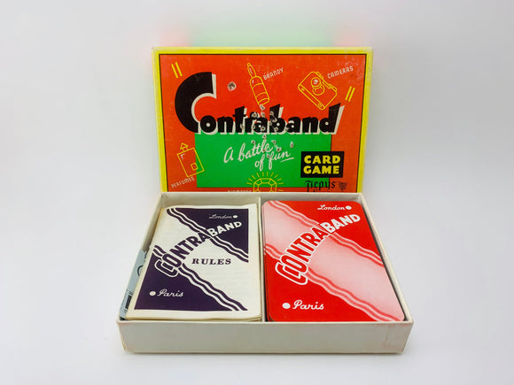 1950's Contraband Card Game by Pepys