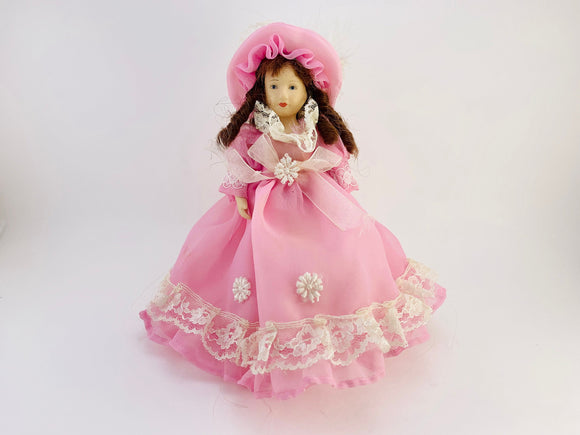 "1970's 7"" Porcelain Doll"