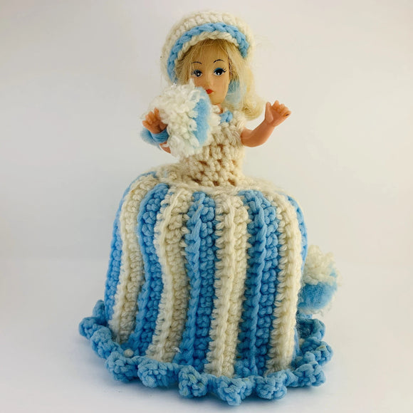 1960's Hong Kong Clone Doll Crochet TP Cover