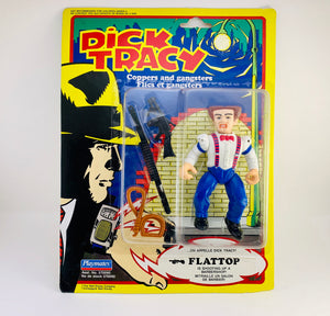SOLD! 1990 NOS Dick Tracy Villain Flattop - Coppers and Gangsters Action Figure