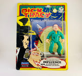 1990 NOS Dick Tracy Villain Influence - Coppers and Gangsters Action Figure