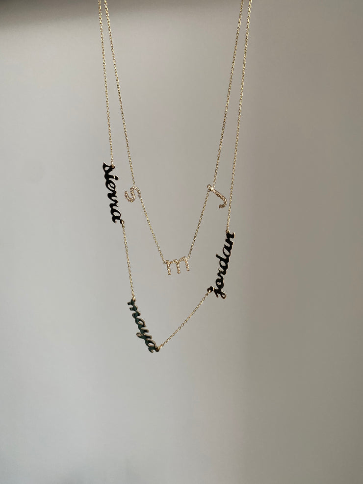 MARIA - The Kids Name Necklace