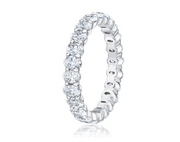 The Baby Oval Eternity Band