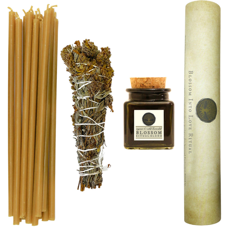 Blossom Into Love Ritual Kit: Invite New Love, Improve Existing Relationships & Heal Heart Chakra