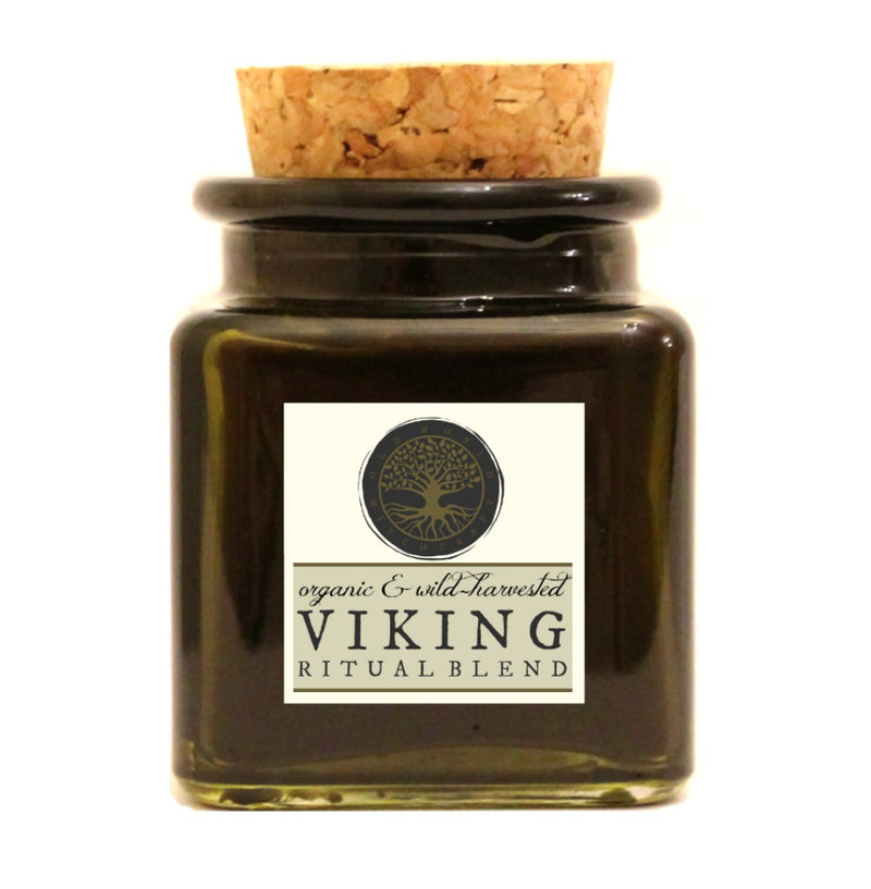 Viking Ritual Blend: Inner Strength, Courage & Protection - Old World Witchcraft