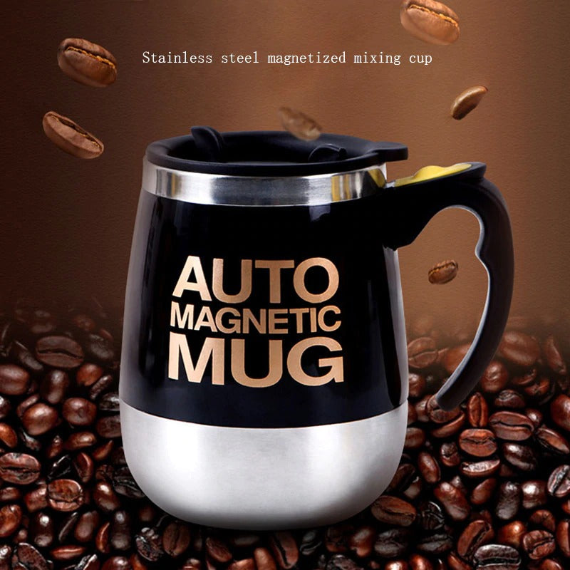 Auto Magnet Stirring Coffee Mug