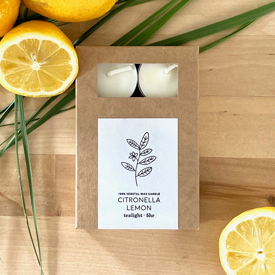 Citronella x Cerabella (Tealight Candle Set)