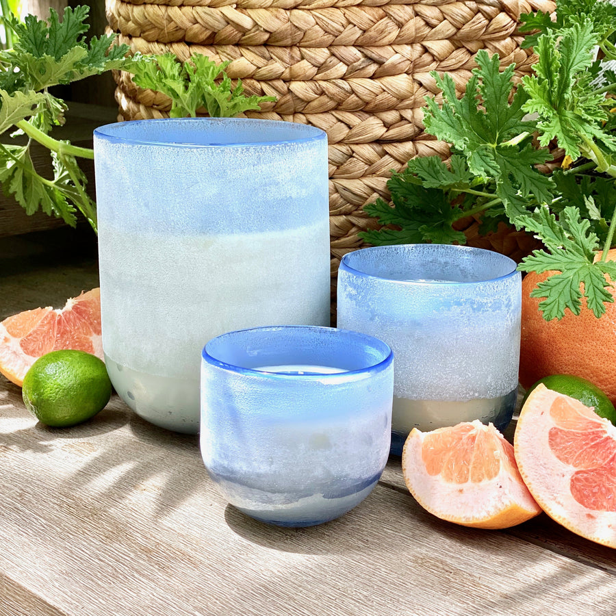Citrus Crush Mojave Glass Candle