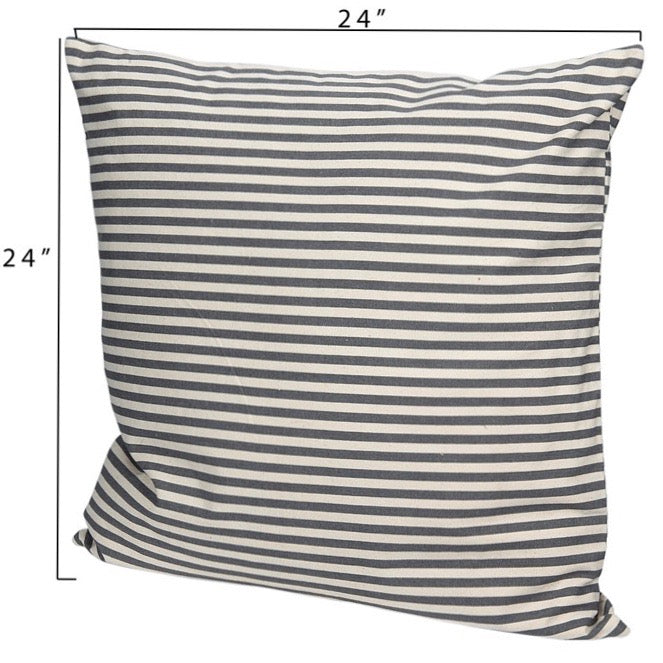 Samaniee Striped Pillow (Square)