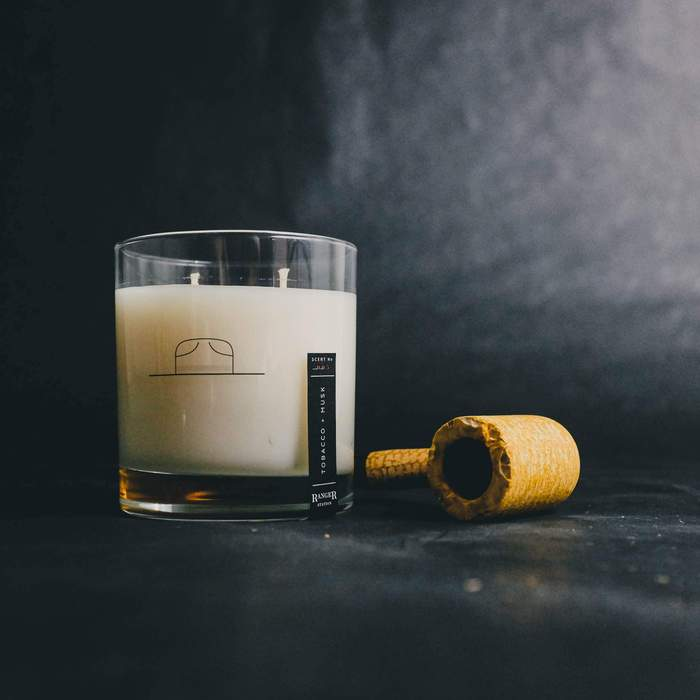 Tobacco + Musk Candle