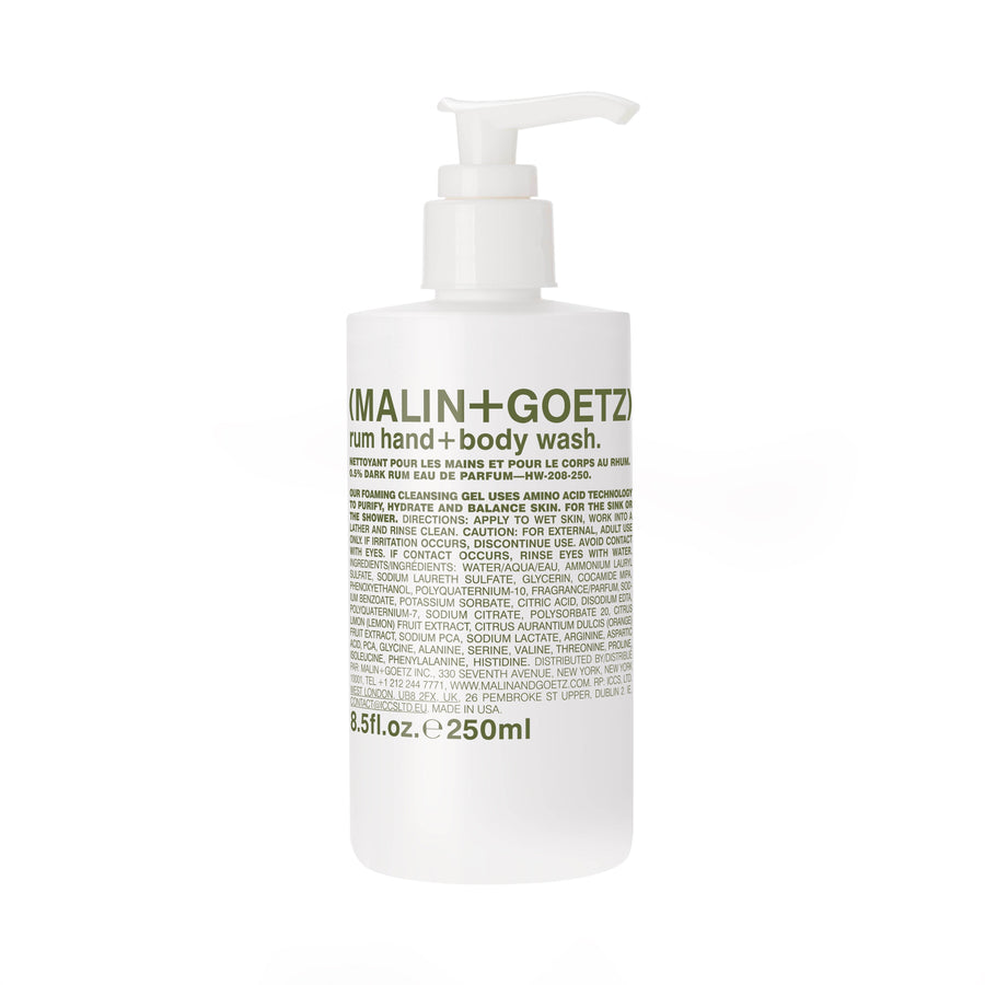 MALIN+GOETZ Dark Rum Hand+Body Wash