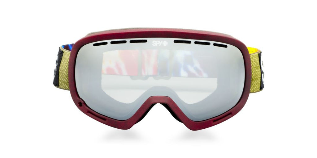 Spy Goggles MARSHALL  Burgundy / Grey