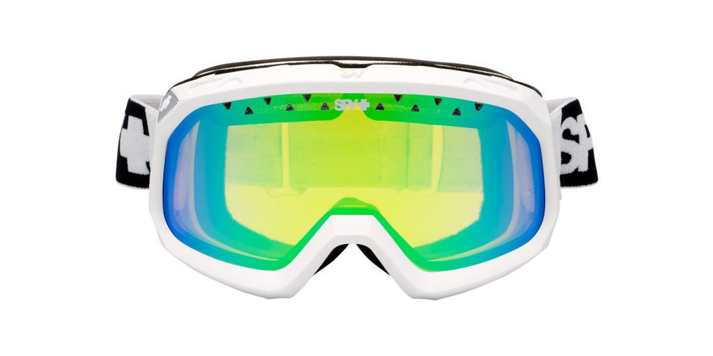 Spy Goggles TREVOR1 01 White / Green