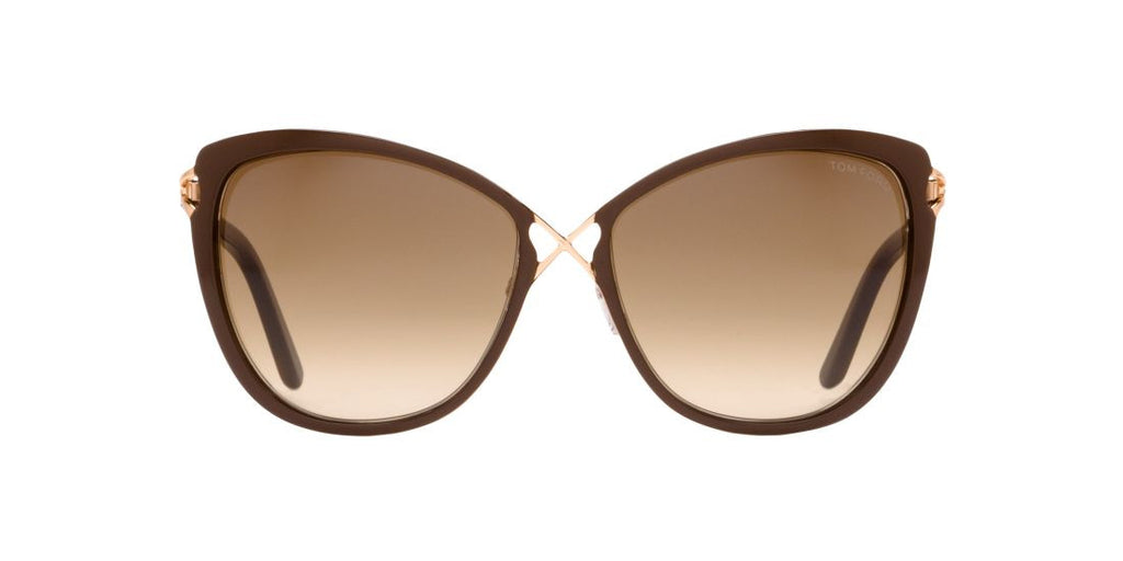 Tom Ford FT0322 CELIA Brown / Green
