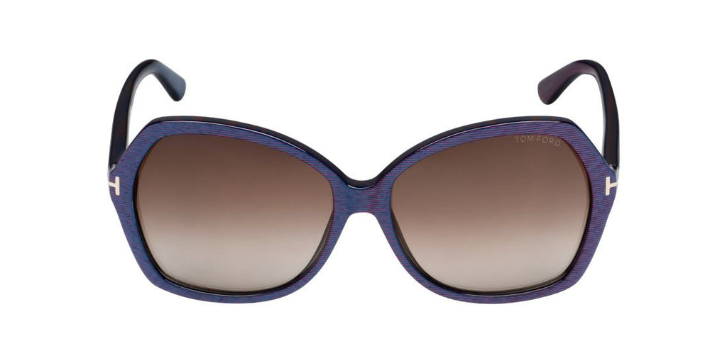 Tom Ford FT0328  Blue / Brown