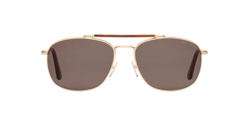 Tom Ford FT0339 MARLON Gold / Green