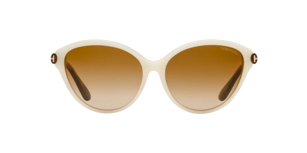 Tom Ford FT0342 60 Ivory / Brown