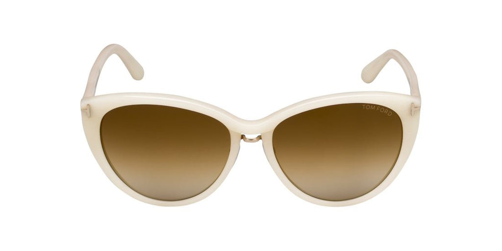 Tom Ford FT0345 GINA Ivory / Brown