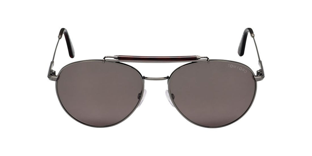 Tom Ford FT0338 COLIN Gunmetal / Green