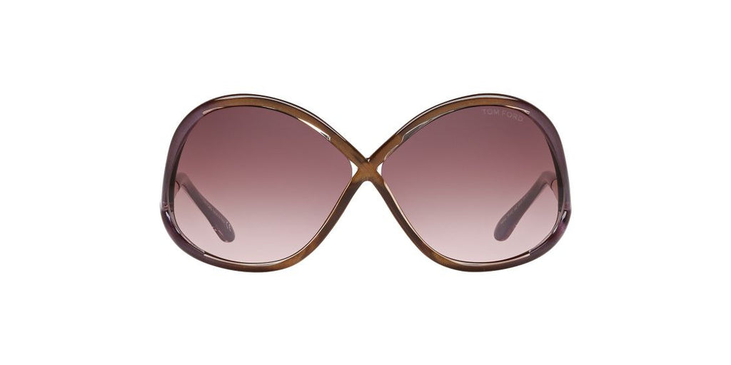 Tom Ford FT0372 64 Burgundy / Pink