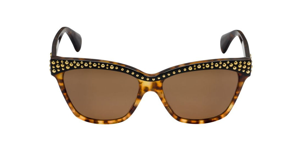 Alexander McQueen AMQ4239/S  Multicolor / Brown