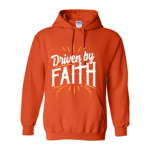 Driven By Faith Hooded Sweatshirt