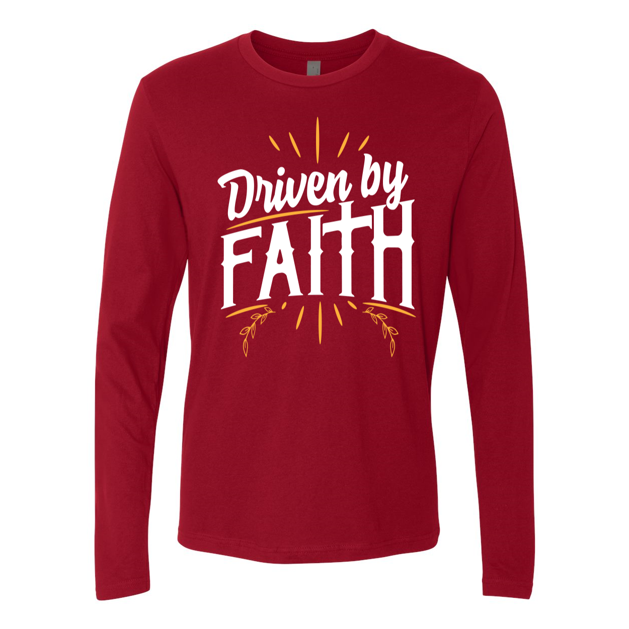 Driven By Faith Premium Long Sleeve Tee