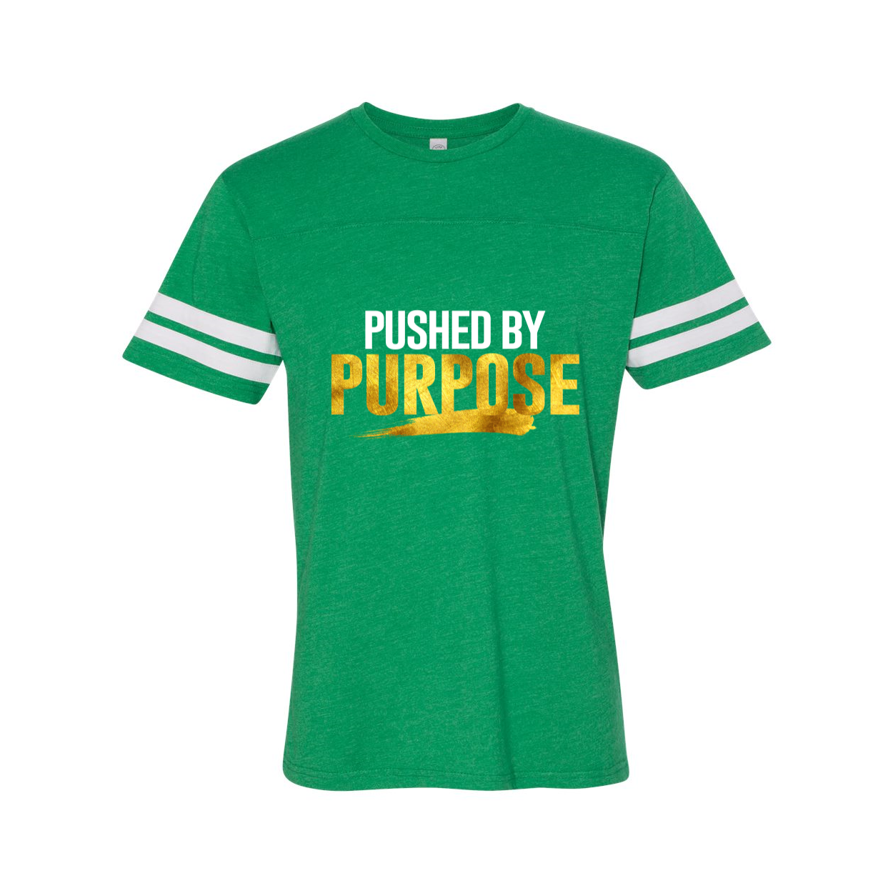Pushed By Purpose Adult Jersey Tee