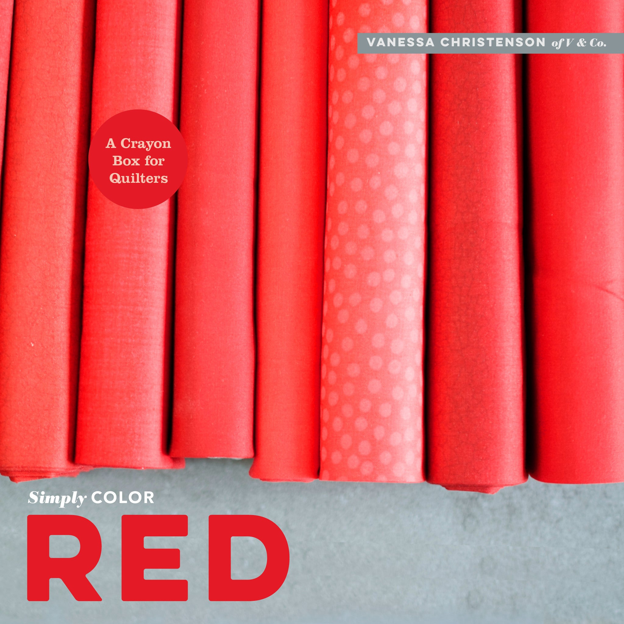 Book about color red - Simply color red