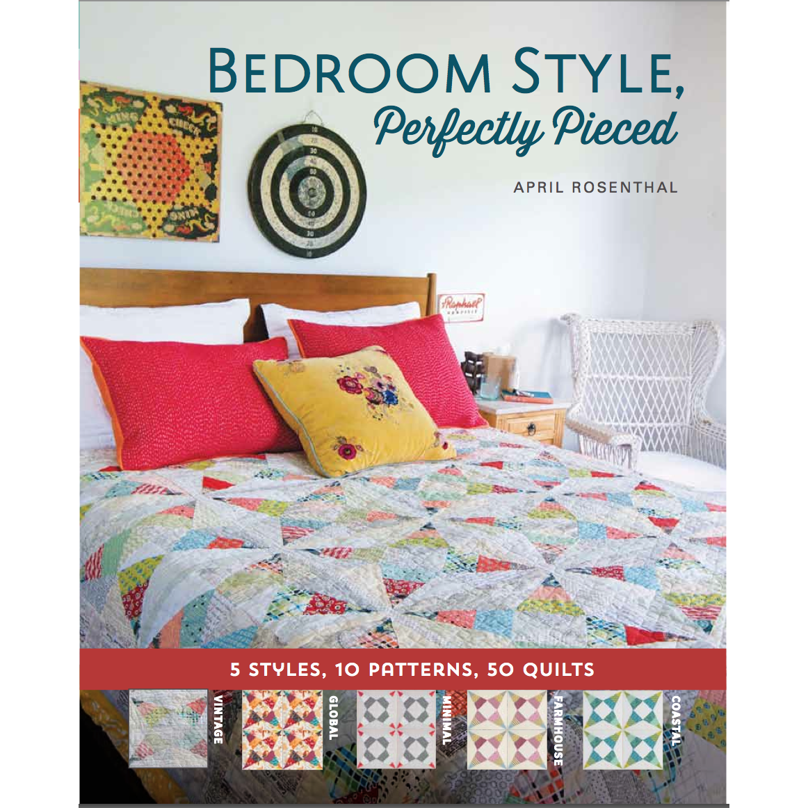 Bedroom Style, Perfectly Pieced