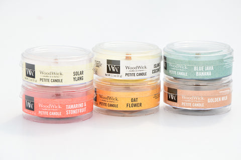 WoodWick - Petite Candles (Various Scents)