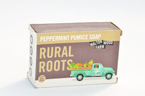 Walton Wood Farm - Peppermint Pumice Soap