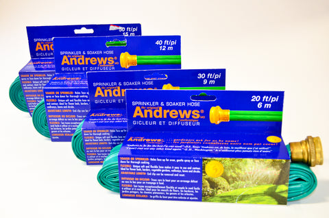 Andrews Sprinkler & Soaker Hose