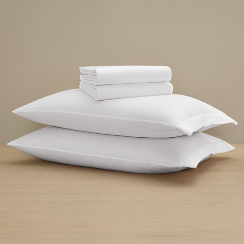 Checkered Sateen Classic Sheet Set