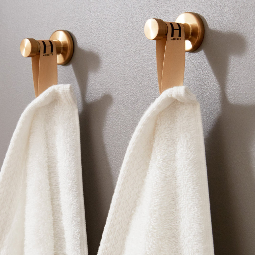 Simple Border Hand Towel Set Of 2