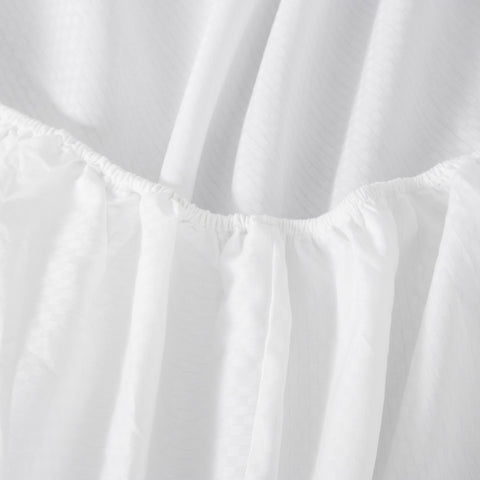 Checkered Sateen Fitted Sheet