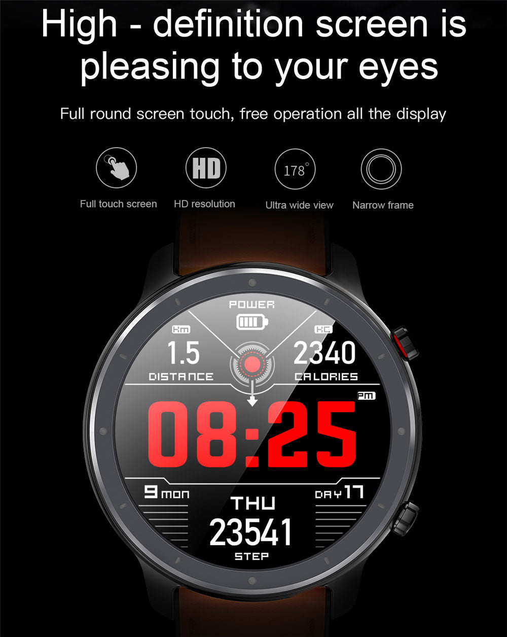 L11 Smart Watch-detailed information1