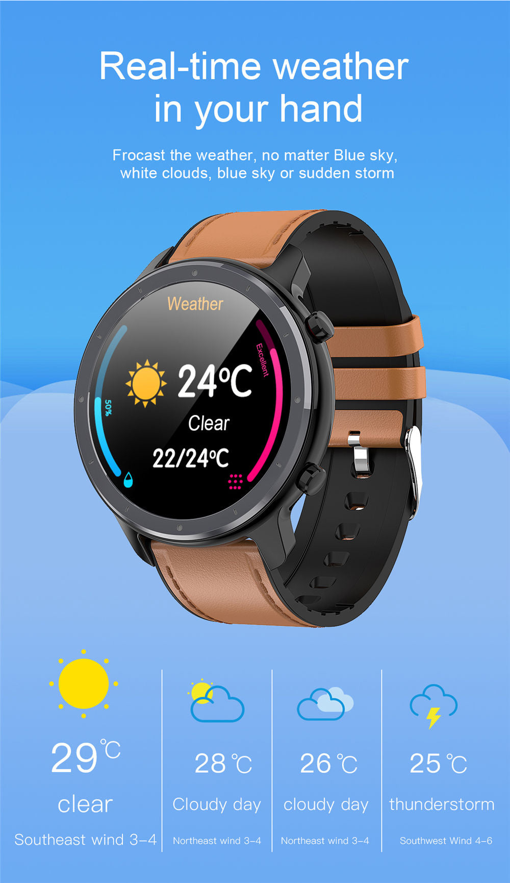 L11 Smart Watch-detailed information13
