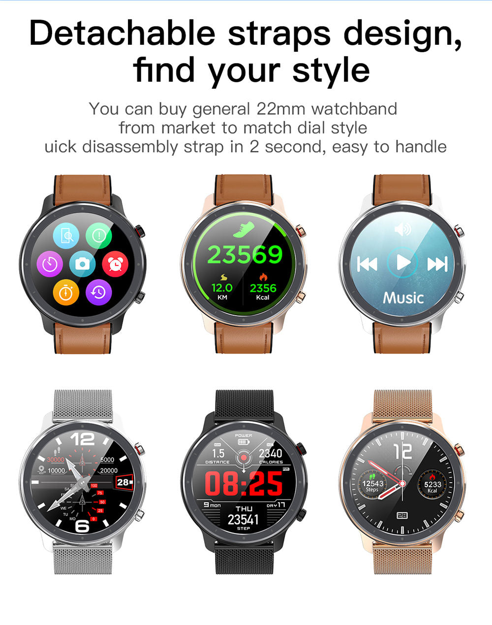 L11 Smart Watch-detailed information14