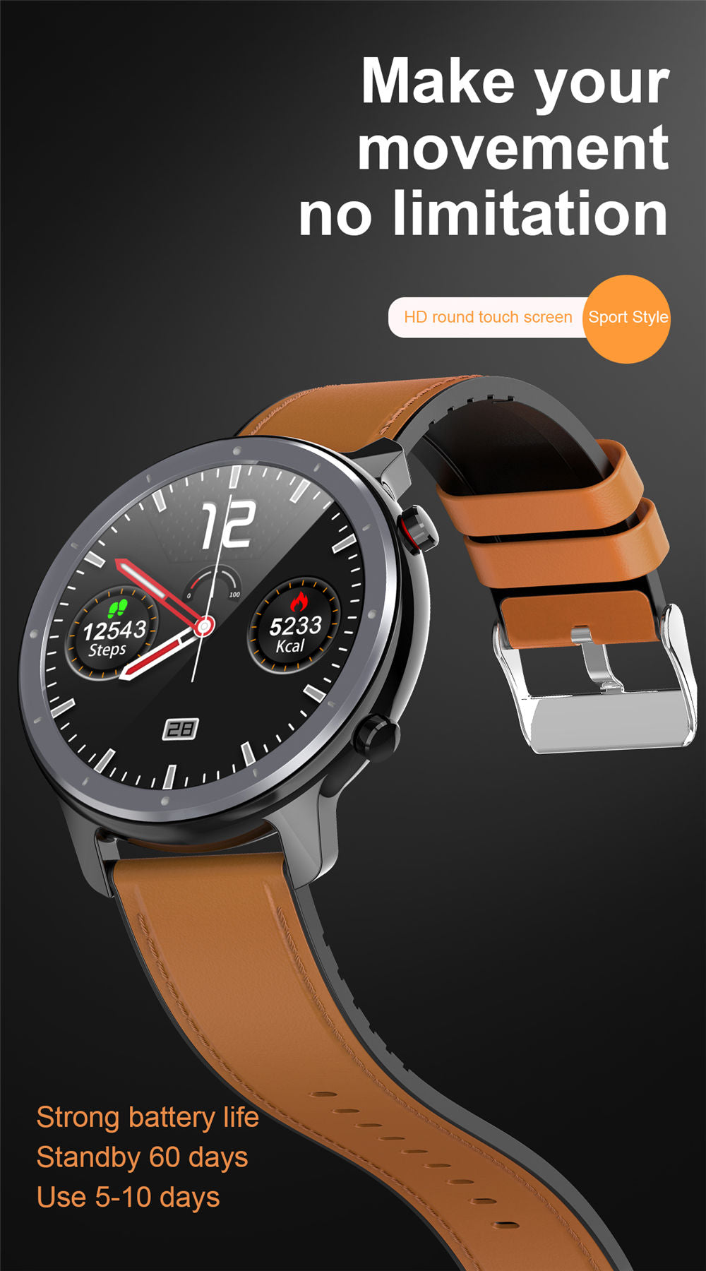 L11 Smart Watch-detailed information17