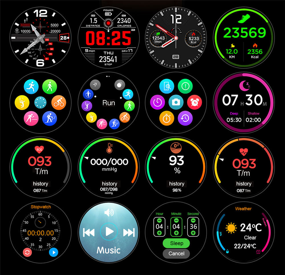 L11 Smart Watch-detailed information2