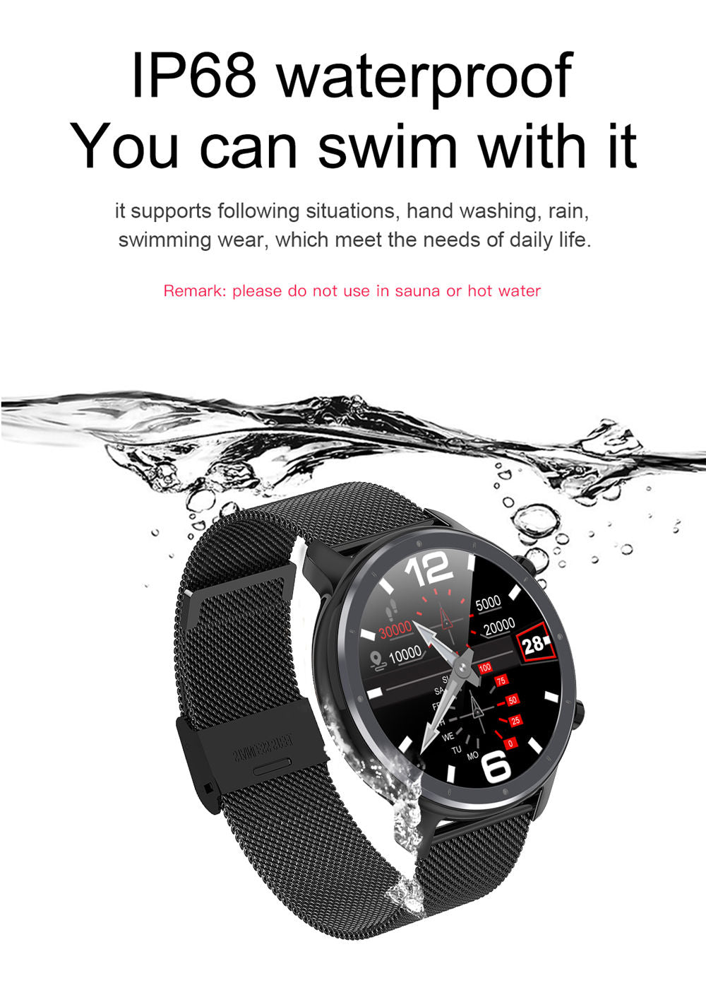 L11 Smart Watch-detailed information5