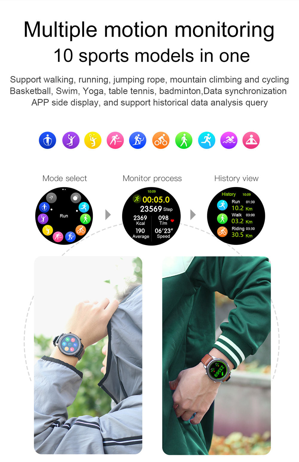 L11 Smart Watch-detailed information7