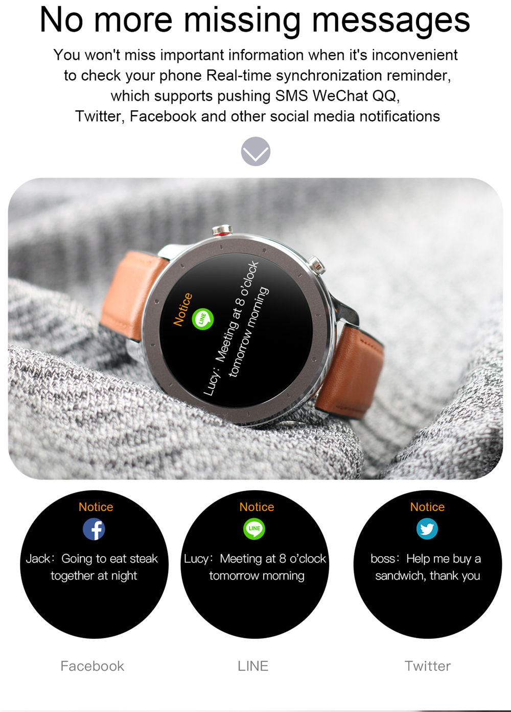 L11 Smart Watch-detailed information8