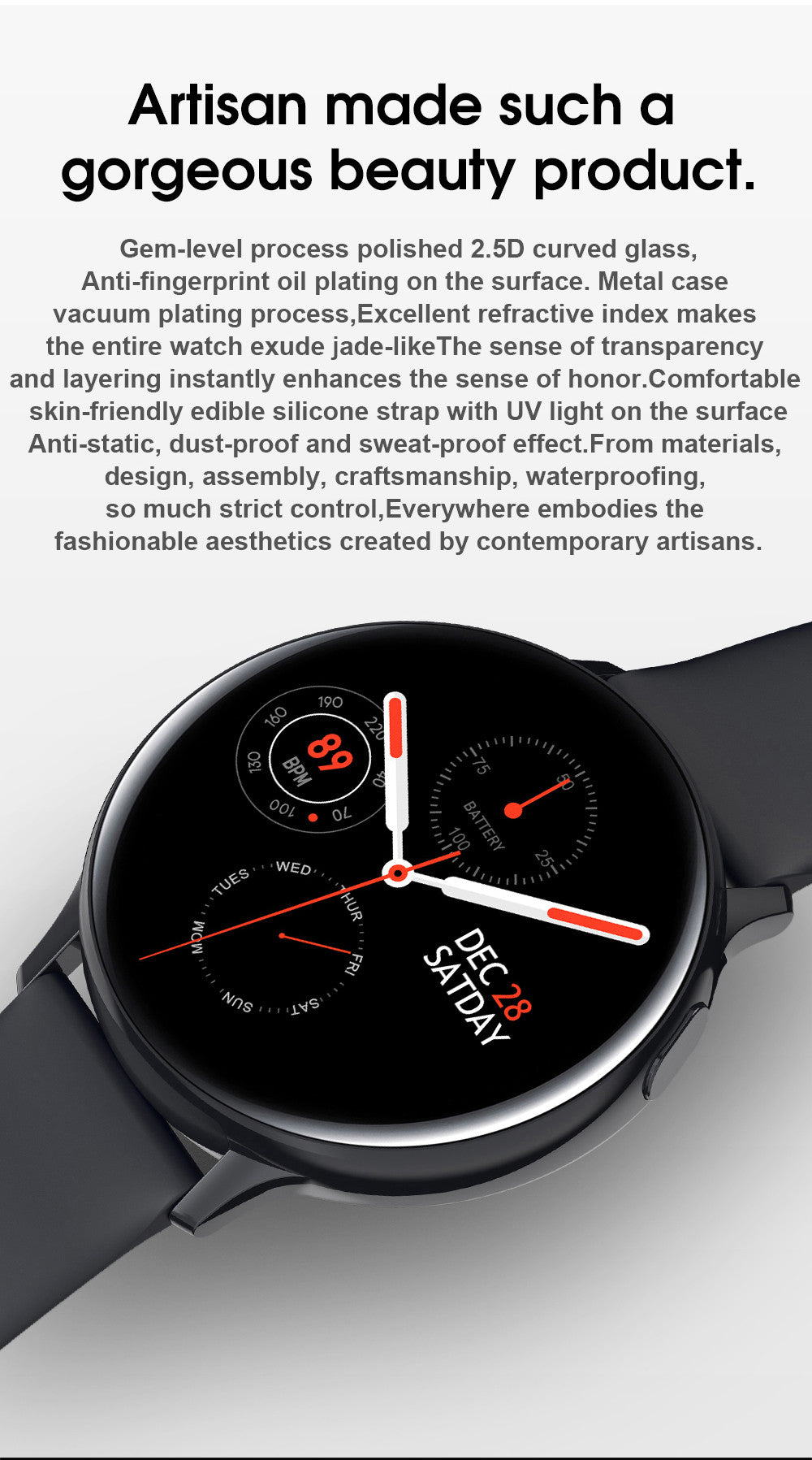 S20 Smart Watch_Detailed information