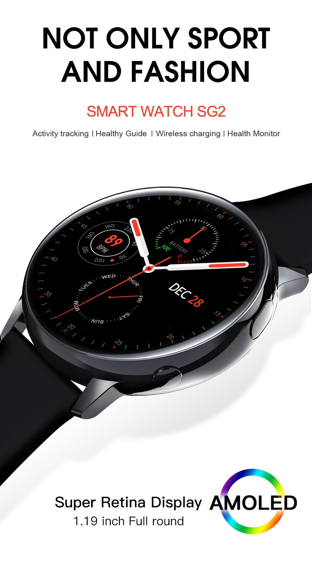 SG2 Smart Watch-detailed information