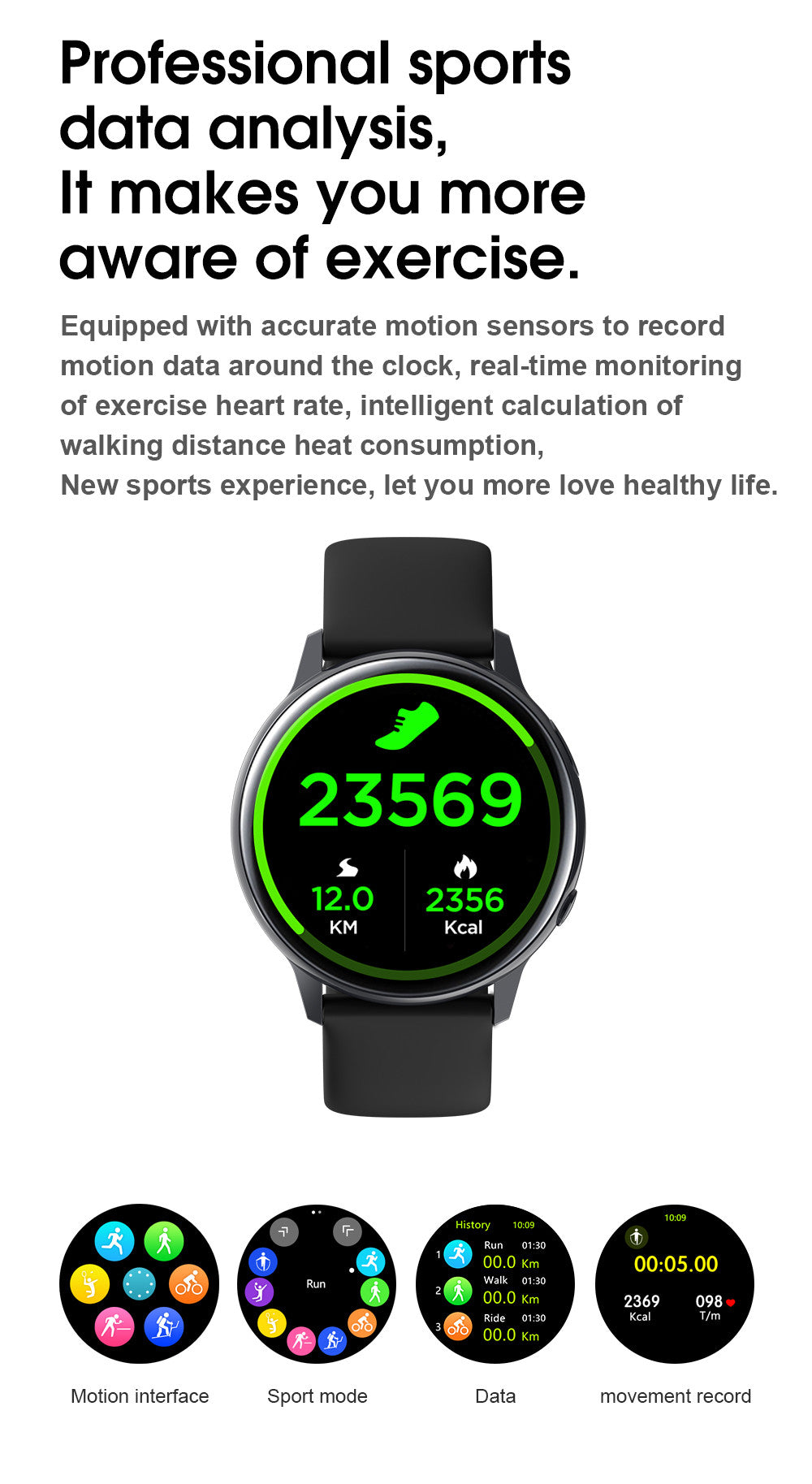 SG2 Smart Watch-detailed information11